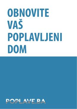 Obnovite Vaš poplavljeni dom.pdf - Poplave.ba