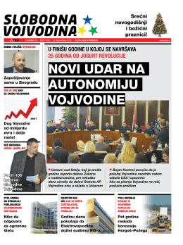 Slobodna Vojvodina br. 100