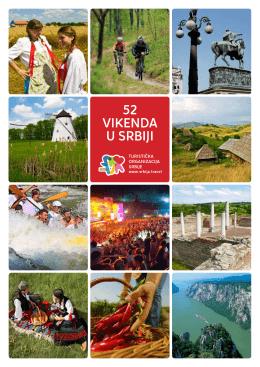 52 vikenda u Srbiji