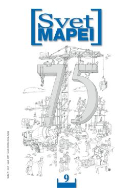 G odina VI – broj 9 – avgust 2012 - novosti, tehnička rešenja