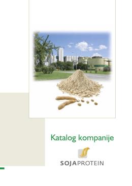 Sojaprotein katalog
