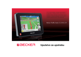 Uputstvo za upotrebu - Harman/Becker Automotive Systems GmbH