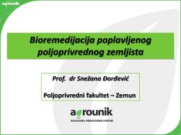 Prezentacija dr. Snežane Đorđević
