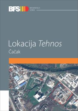 Lokacija Tehnos, Čačak