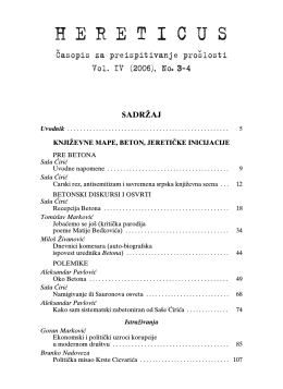 Hereticus 2006/3-4
