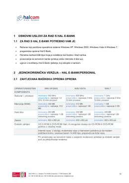 Opis sistemskih i programskih zahtjeva (PDF)