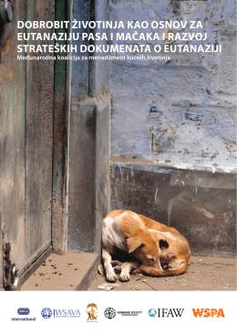 dobrobit životinja kao osnov za eutanaziju pasa i mačaka i razvoj