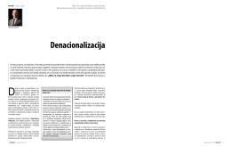 Denacionalizacija