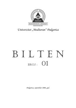 br.1 - Univerzitet `Mediteran`