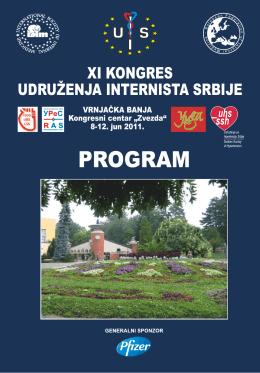 program - Udruženje Internista Srbije