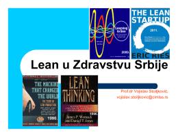 Lean u Zdravstvu Srbije