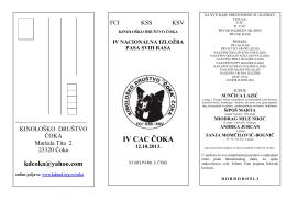 IV CAC ČOKA - KD Tisa Mol