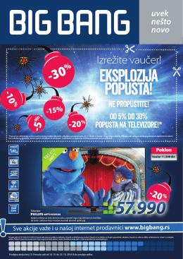 Eksplozija popusta! - Big Bang online katalog