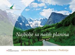 najbolje sa naših planina (brošura)