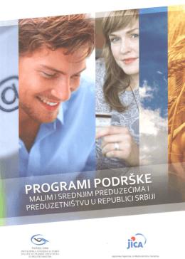 programi podrške malim i srednjim preduzećima i preduzetništvu u