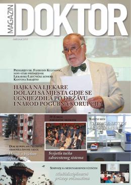 Doktor Juni 2014 - Ljekarska Komora Kantona Sarajevo