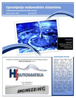 Upravljanje vodovodnim sistemima