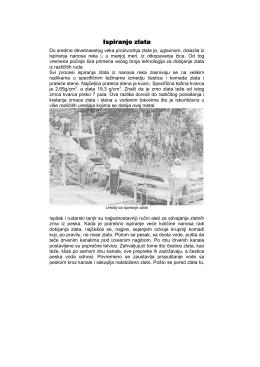 Ispiranje zlata (pdf, 300kb)