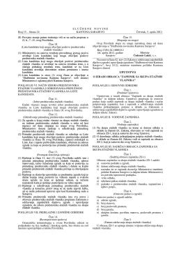 15/12 - Ministarstvo stambene politike Kantona Sarajevo