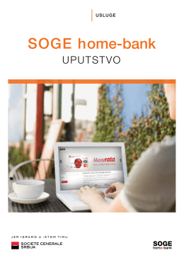 Ovde - SOGE Home-bank
