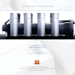 Katalog proizvoda PDF