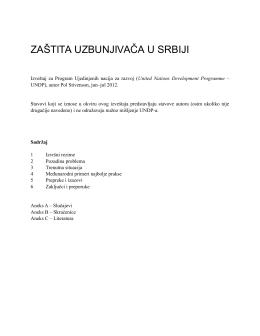 Извештај о заштити узбуњивача у Србији