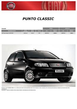 PUNTO CLASSIC - Fiat Automobili Srbija