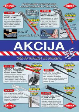 Akcijski katalog - eltec export import