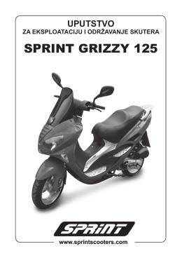 Grizzy 125 uputstvo.indd - SPRINT Skuteri