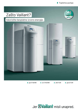 Prospekt Prospekt za toplotone pumpe Veličina 4,00 MB