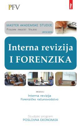 Interna revizija I FORENZIKA