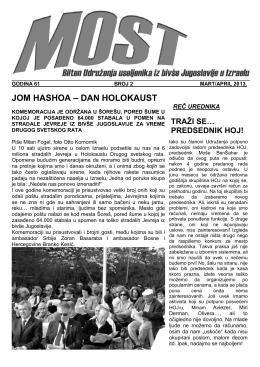 JOM HASHOA – DAN HOLOKAUST