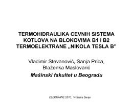 NIKOLA TESLA B