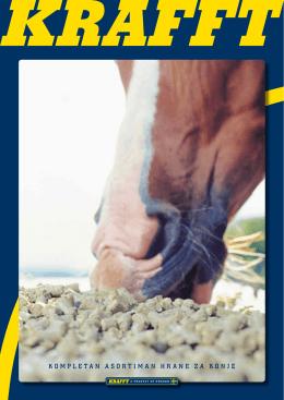 kompletan asortiman hrane za konje