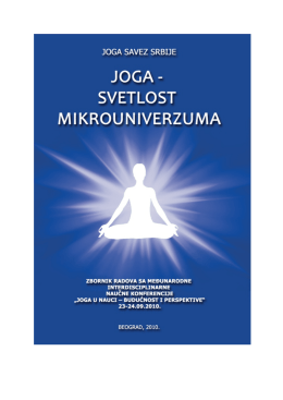 Otvoriti u PDF - Yoga Journal SENSE