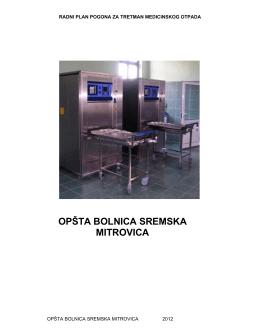 ovde - Opšta bolnica Sremska Mitrovica