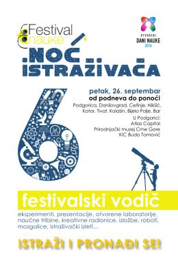 podgorica - Festival nauke
