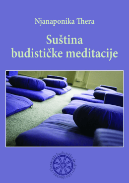 "Nyanaponika Thera ""Budistička meditacija"""