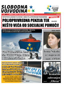 Slobodna Vojvodina br. 84