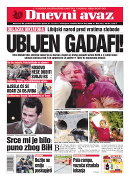Srce mi je bilo puno zbog BiH - Udruzenje Bosna i Hercegovina