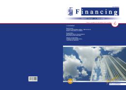 "Naučni časopis ""Financing"" - Broj 4 Godina 2 / decembar 2011."