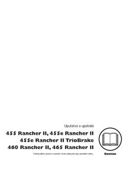 OM, 455 Rancher II, 455e Rancher II, 455e Rancher II