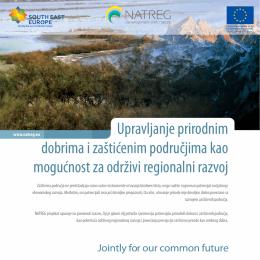 Upravljanje prirodnim dobrima i zaštićenim područjima kao