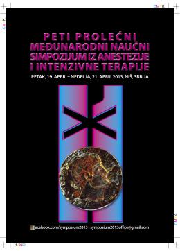 PETAK, 19. APRIL – NEDELJA, 21. APRIL 2013, NIŠ, SRBIJA