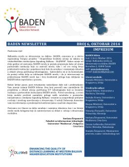 Preuzmite Baden bilten broj 6 (*.pdf)!