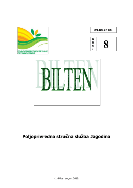 Poljoprivredna stručna služba Jagodina 8