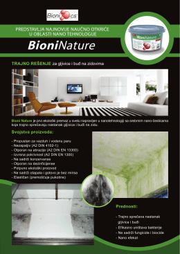 Bioni Nature - Nanotehnologije