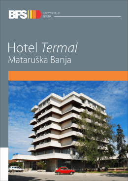 Mataruska banja - hotel Termal