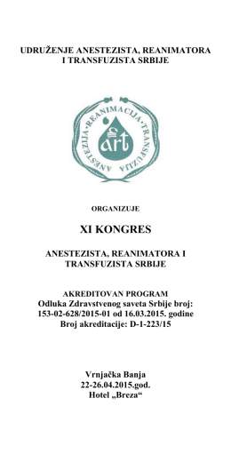 Program XI Kongresa