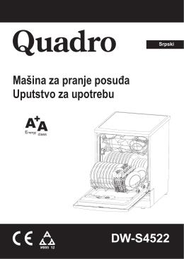 Mašina za pranje posuđa Uputstvo za upotrebu